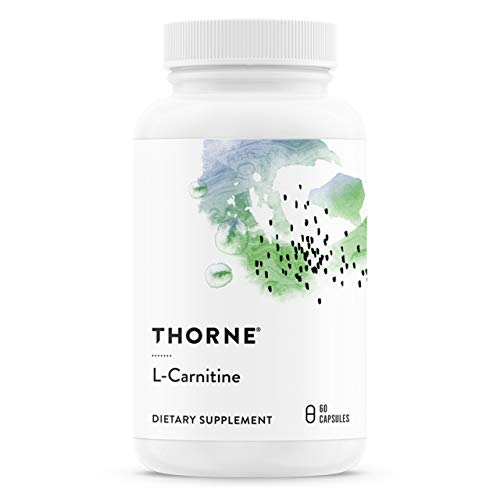 Thorne Research - L-Carnitine - Amino Acid Supplement to Support Fat Metabolism and Energy Production - 60 Capsules