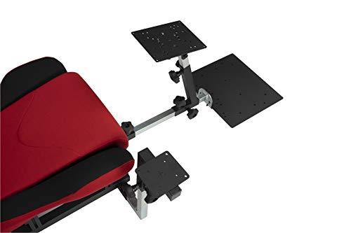 OpenWheeler | Configuration 5 | Flight Sim Add-on Kit for Yoke, Quadrant, Rudder Pedals Package