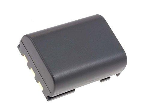 Akku für Digitalkamera Canon EOS 400D EOS 350D / kompatibel mit Akkutyp NB-2LH 750mAh, 7,4V, Li-Ion