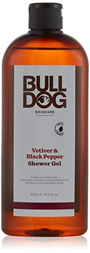 Bulldog Skincare Bulldog Duschgel, schwarzer Pfeffer und Vetiver, 500 ml