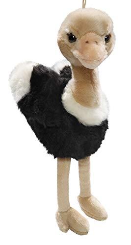 Carl Dick Peluche - Aves Avestruz (Felpa, 18cm/28cm) Juguete