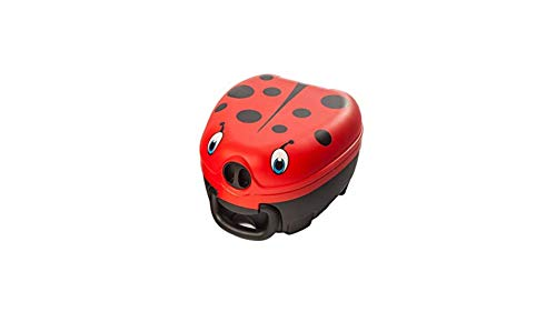 My Carry Potty - Ladybird Travel Potty, Award-Winning Portable Toddler Toilet Seat for Kids to Take Everywhere
