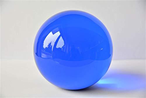 Briefbeschwerer, Glaskugel mit Stand Ø ca.100 mm (blau, 156 0251)