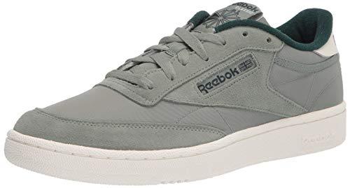 Reebok mens Club C Sneaker, Harmony Green/Forest Green Chalk, 10.5 US