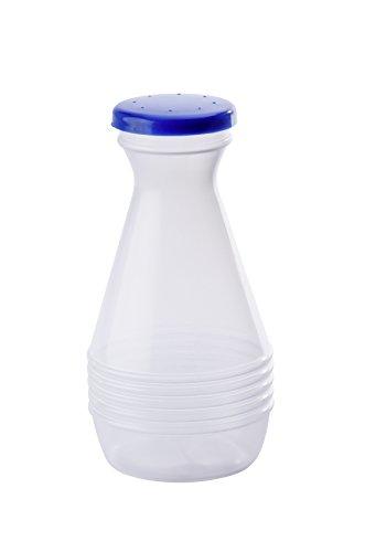 WENKO Wäschesprenger Klassik 300 ml Fassungsvermögen: 0.3 l, Polyethylen, 7 x 14 x 7 cm, Transparent