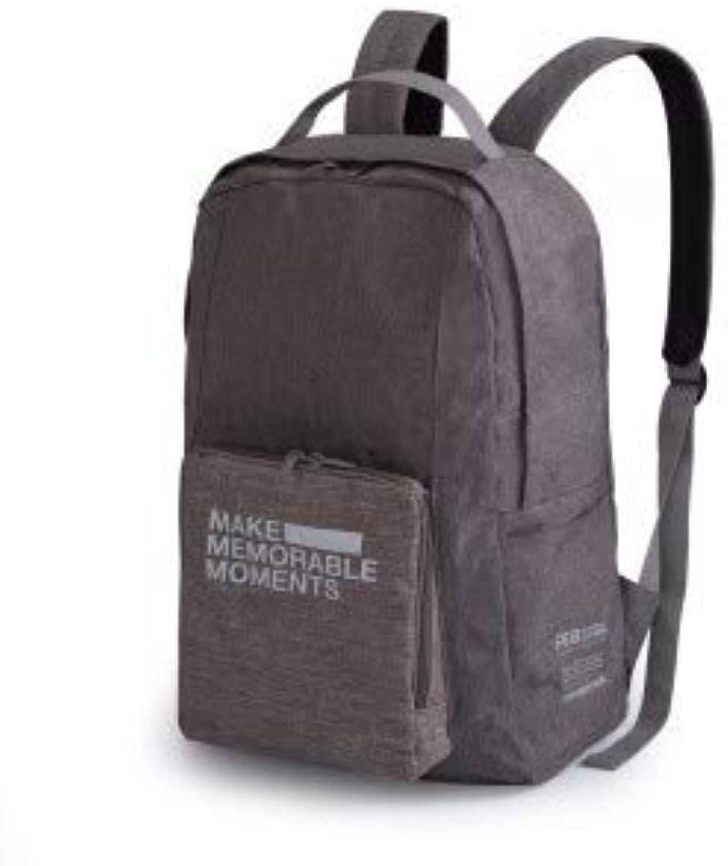 Global Brands Online Multifunktions-Tragbare, minimalistische Faltbare Schulter Rucksack Reisetasche
