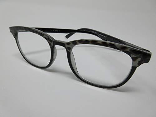Fitsch Online UG Moderne leesbril +3,5 Design2 voor dames en heren met flexibele beugel kant-en-klare bril