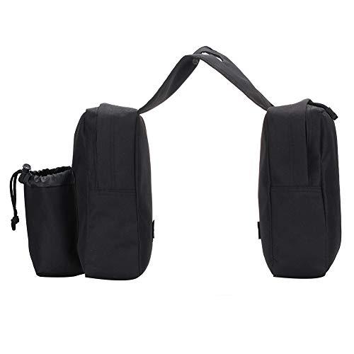 Motorrad-Tanktasche, multifunktional, Oxford-Stoff, für ATV, Wasserflasche, Reisegepäck, Aufbewahrung, wasserdicht, praktisch, lässig, universell, tragbar, mit Fronttaschen