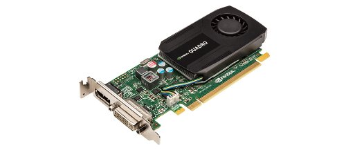 NVIDIA Quadro K600-Grafikkarte, 1 GB DDR3