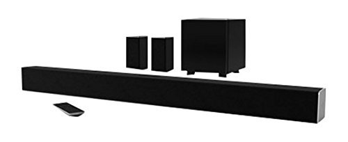 "VIZIO SB3851-D0 SmartCast 38"" 5.1 Sound Bar System (2016 Model) (Certified Refurbished)"