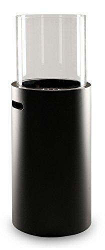 LILIMO Standkamin Messina, Bio-Ethanol Kamin, schwarz