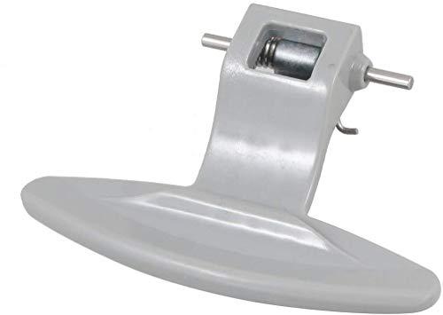 Agger - Serratura interna in plastica per sportello lavatrice LG, colore: Grigio