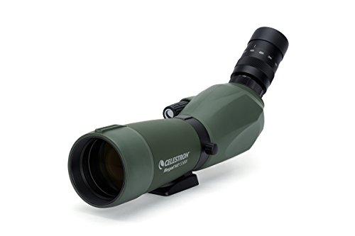 Celestron Regal M2 65ED Spotting Scope – Fully Multi-Coated Optics – Hunting Gear – ED Objective Lens for Bird Watching, Hunting and Digiscoping – Dual Focus – 16-48x Zoom Eyepiece