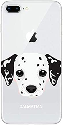 coque iphone 8 plus dalmatien