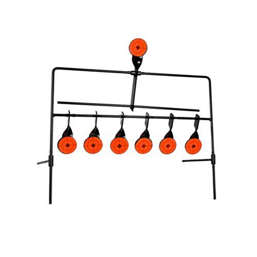 NUOBESTY Zurücksetzen des Zielschießens Zurücksetzen des Ziels für Das Paintball-Training Der Luftpistole