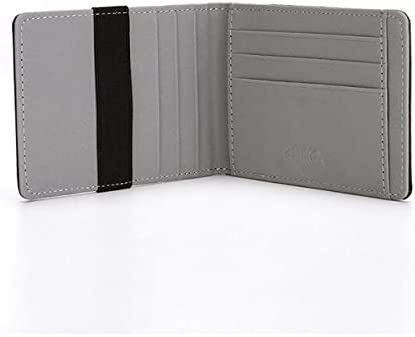 BlueCandle - Fashion Men's Leather Pu Card Money Wallet Casual Thin Money Credit Card Holder Purse For Men-45104