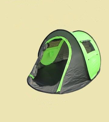 Automatic outdoor tent Double camping tent Rain 1 sec 1-2 people free to build tents