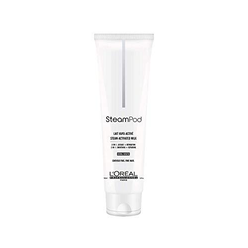 L\'Oréal Professionnel Steampod - Leche de Alisado para Cabello Fino - 150 ml