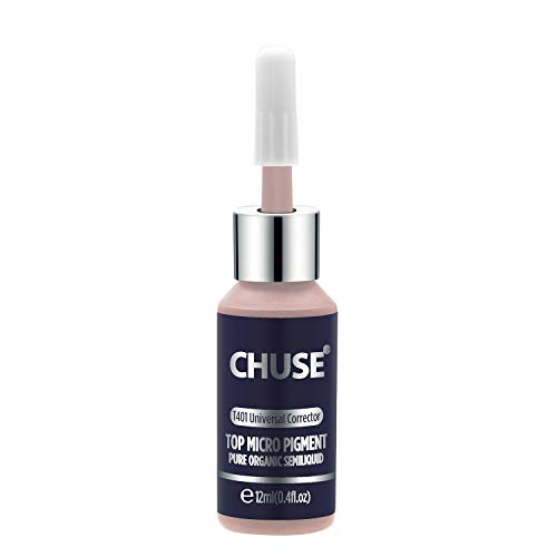 CHUSE T401, 12ml, Universal Corrector, Passed SGS, DermaTest Top Micro Pigment Cosmetic Color Permanent Makeup Tattoo Ink