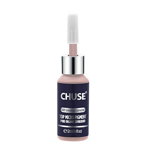 CHUSE T401 Universal-Korrektor Microblading Micro Pigment Permanent Make-up Tattoo Ink kosmetische Farbe bestanden SGS, DermaTest 12ml (0.4fl.oz)