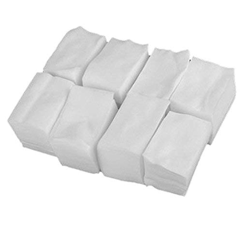 使役主張すなわち1st market プレミアム 人気 900x白いリントフリーネイルアート ワイプ紙パッド ゲルアクリルのヒント ポリッシュリムーバークリーナー(6cm x 5cm) 便利