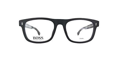BOSS ORANGE  BOSS0928 Hugo Boss Brillengestelle Boss0928-003-50 Herren Rechteckig  Brillengestelle 50, Schwarz