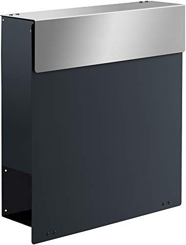 Frabox Design Briefkasten NAMUR anthrazitgrau