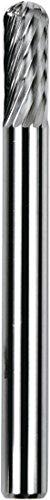 Flame SH-53 Single-Cut Dedeco 12403 Carbide Bur 1//8 x 3//16 x 3//8