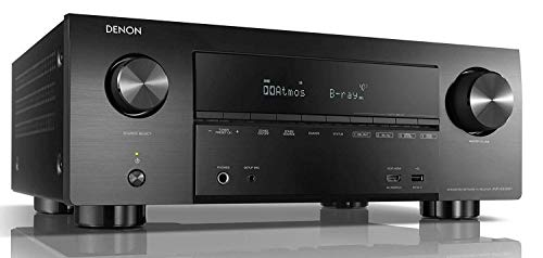 Denon AVR-X3500H - Receptores Audio/Video de Alta definición, Color Negro