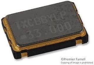 TXC 7W-33.000MBC-T OSCILLATOR, 33MHZ, 7 X 5MM, CMOS (10 pieces)