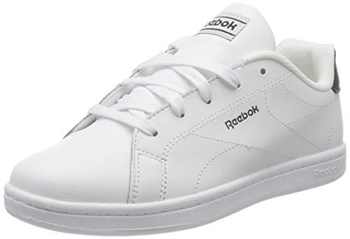 Reebok Jungen Rbk Royal Complete Cln 2.0 Gymnastics Shoe, White/Collegiate Navy/None, 30 EU