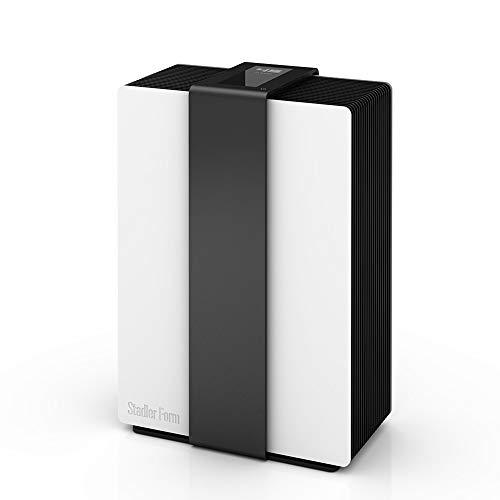 Stadler Form Luftwäscher Robert, 2 in 1: Luftbefeuchter & Luftreiniger, für Allergiker geeignet, schwarz