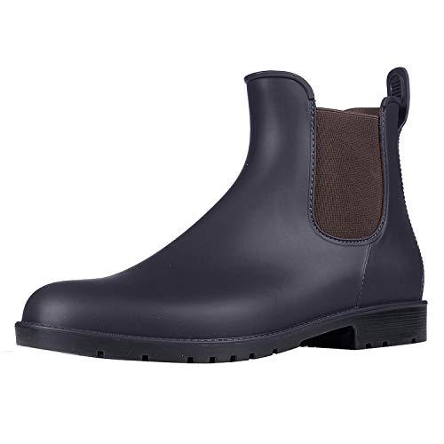 Asgard Damen Stiefeletten Regenstiefel Wasserdicht Chelsea Boots, Braun (braun), 37.5 EU