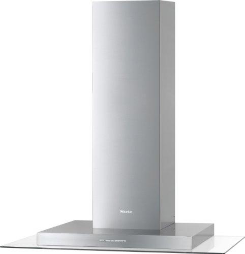 Miele DA 5495 W Wandhaube / Breite: 89.8 cm / Edelstahl / Spülmaschinengeeignete Edelstahl-Metall-Fettfilter / Renigungsfreundliches CleanCover