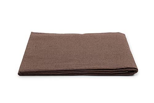 HomeLife - Frühlings-Sommer-Tagesdecke aus Piqué [220 x 260], hergestellt in Italien   Bettdecke für französisches Bett aus Baumwolle einfarbig   Tagesdecke für französisches Bett