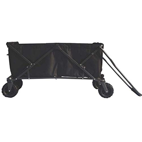 Impact Canopy Folding Collapsible Utility Wagon, Extra-Large Wagon with...