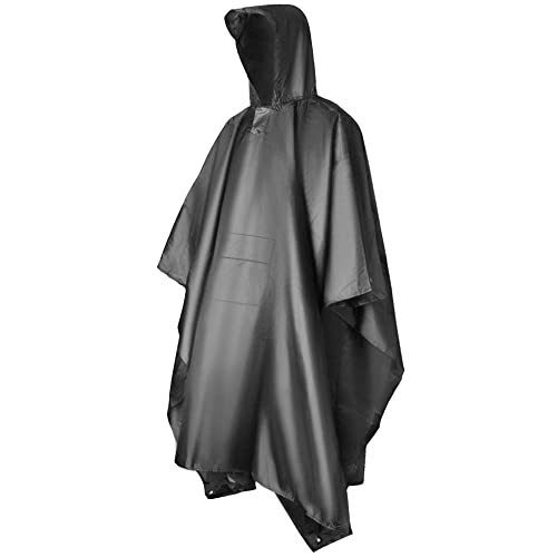 Le Poncho de Pluie Hiker, une Protection Anti-pluie Multifonctionnelle 3-en-1 Vont Camper, Poncho de Vélo Réfléchissant AS Imperméable et Vêtements de Plein Air Pour Les, la Pêche et la Randonnée