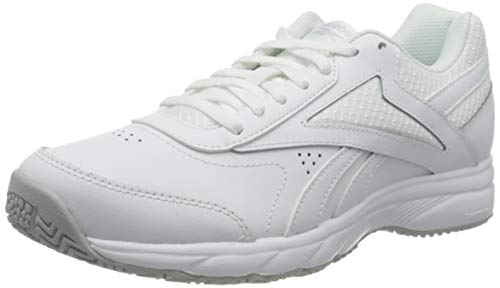 Reebok Work N Cushion 4.0, Gymnastics Shoe Womens, White/Cold Grey 2/White, 37.5 EU