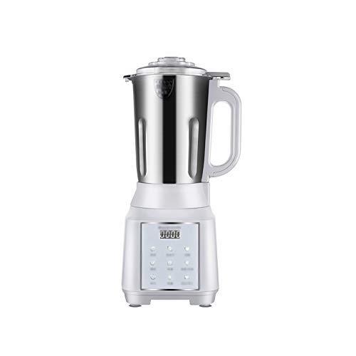 BGSFF 1000ML kleine Sojamilchmaschine Vollautomatische multifunktionale Desktop-Entsafter Haushaltsküche Kochbecher Heizung Filterfrei