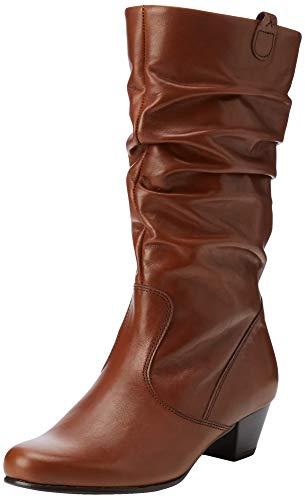 Gabor Shoes Damen Comfort Basic Hohe Stiefel, Braun (Sattel (Micro) 34), 38 EU