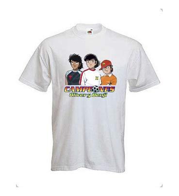 Desconocido Camiseta Oliver y Benji