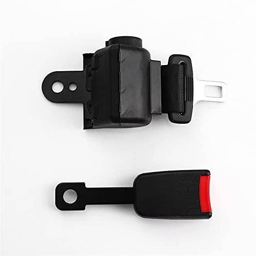 2 Punkte Sicherheitsgurt,Auto-Sicherheitsgurt,Auto Gürtel,schwarz 15.8cm