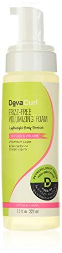 DevaCurl Frizz-Free Volumizing Texture Foam, 7.5oz