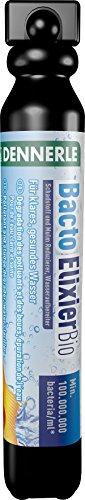 Dennerle Bacto Elixier Bio | Wasseraufbereiter für Süßwasser Aquarien | Schadstoff und Mulm Reduzierer (50 ml)