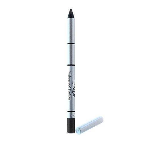 Impala - Lápiz de ojos waterproof cremoso Color Negro Nº301 duradero
