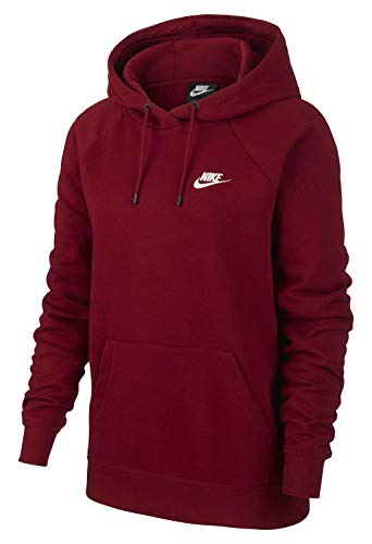NIKE Sportswear Essential Hoodie Women - Sudadera con Capucha de Tejido Mujer