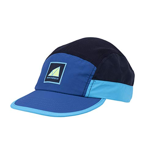 New Balance 5-Panel Camper Hat, Captain Blue