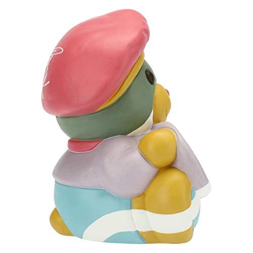 THUN ® - Teddy Street Art Napoli Piccolo - Ceramica - h 9,7 cm - Linea I Classici