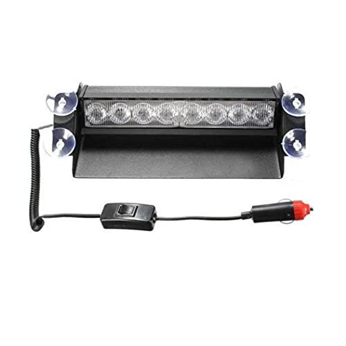 Tuimiyisou Coche camión de Emergencia Strobe luz de Flash 8LED Parabrisas Luz de Advertencia para los Coches Superior Producto