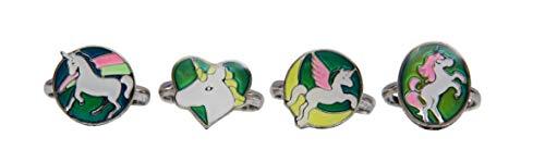Boxer Gifts BB5262 - Anillo con diseño de Unicornio, Color Plateado